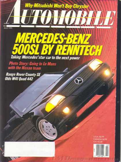 Automobile - July 1991
