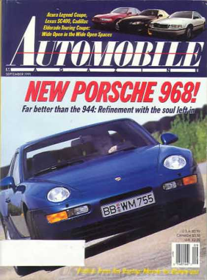 Automobile - September 1991
