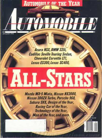 Automobile - January 1992