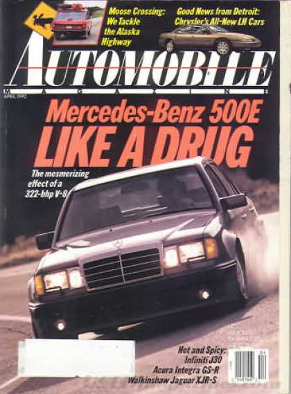 Automobile - April 1992