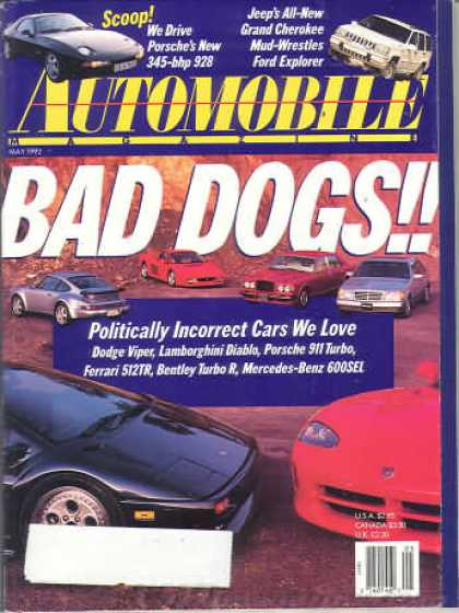 Automobile - May 1992