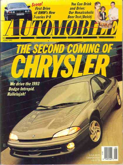 Automobile - June 1992