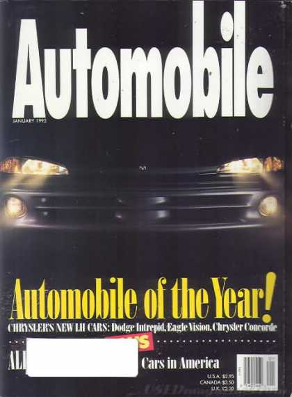 Automobile - January 1993