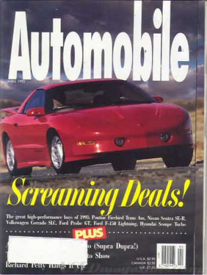 Automobile - April 1993