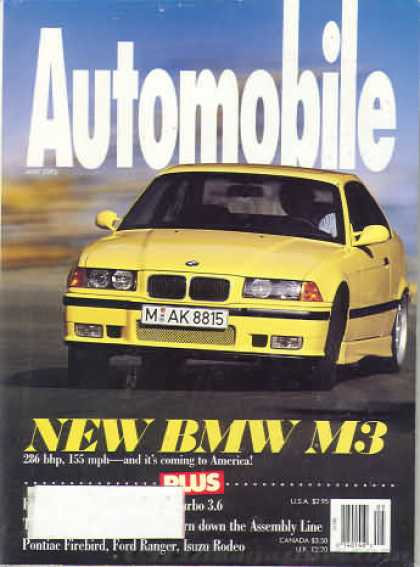 Automobile - May 1993
