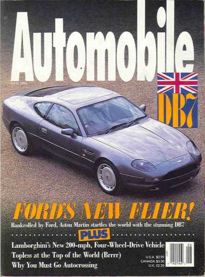 Automobile - June 1993