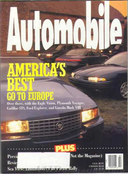 Automobile - July 1993