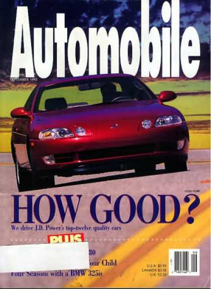 Automobile - September 1993