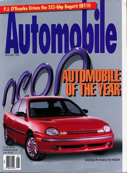 Automobile - January 1994