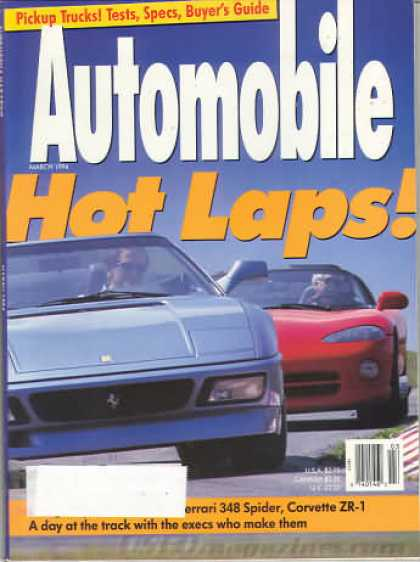 Automobile - March 1994