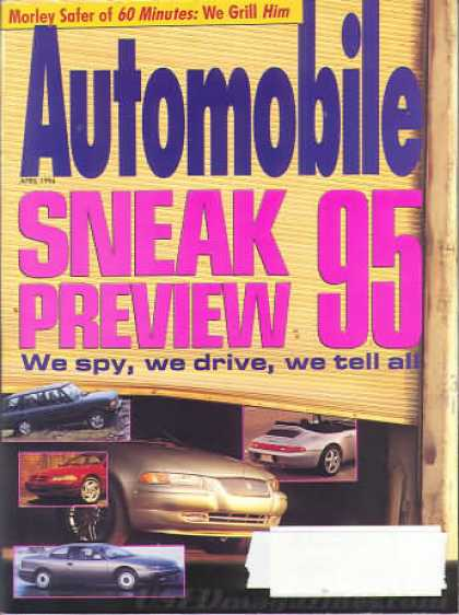 Automobile - April 1994