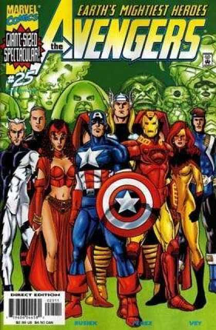 Avengers (1998) 25 - Ironman - Heroes - Marvel Comics - Electra - Giant-sized - George Perez