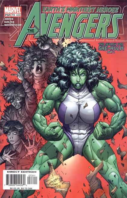 Avengers (1998) 73 - Powerful - Evil - Extra - Strong - Ladies - Scott Kolins