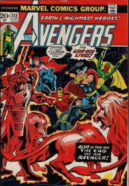 Avengers Covers #100-149