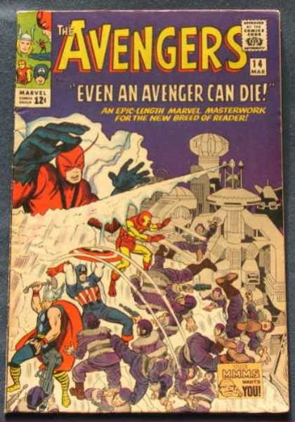 Avengers 14 - Thor - Captain America - Even An Avenger Can Die - Ice Wall - Iron Man - Charles Stone, Jack Kirby