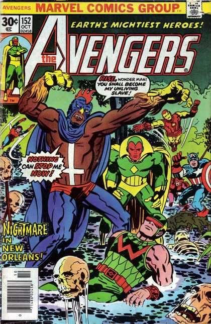 Avengers 152 - Bird Man - Iron Man - Capt America - Number 152 - 30 Cents - Jack Kirby