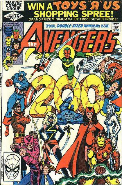 Avengers 200 - Beast - Captain America - Suits - X-men - Action Heroes - George Perez, Terry Austin
