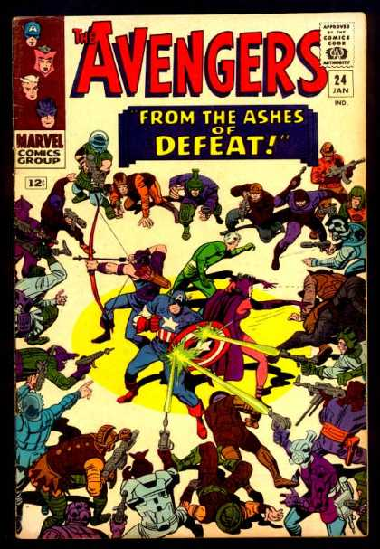 Avengers 24 - Dick Ayers, Jack Kirby