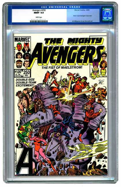 Avengers 250 - Hand - Fingers - Men - Stones - Avengers - Joe Sinnott