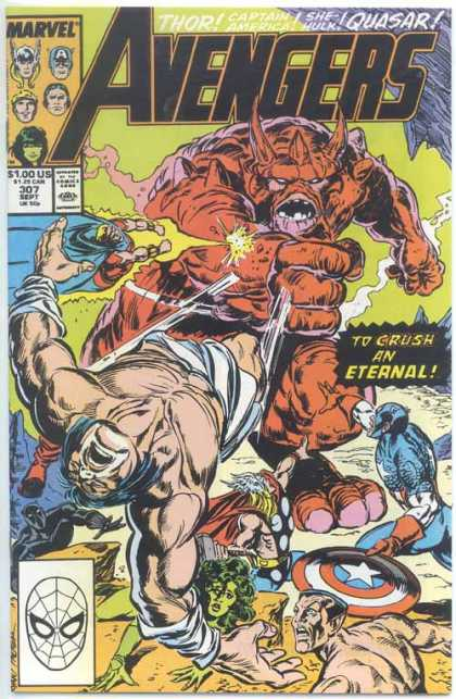 Avengers 307 - I Will Have My Revenge1 - Pow - Take That - The Power Of Light - The Fall Of Prehistoric Man - Paul Ryan