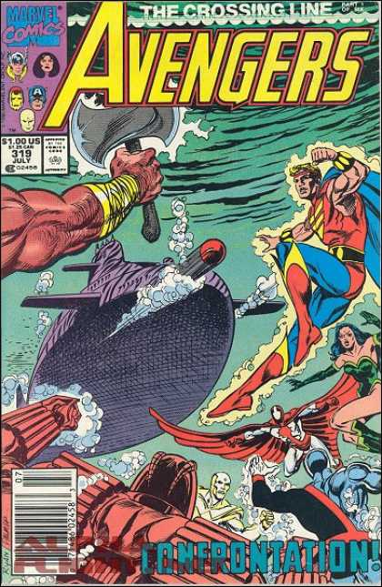 Avengers 319 - Submarine - Paul Ryan