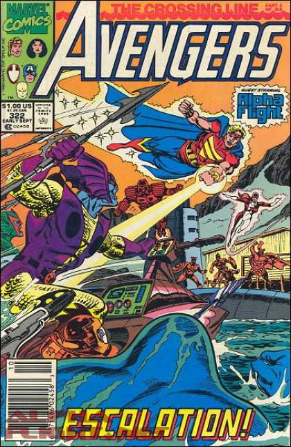 Avengers 322 - Water - Submarine - Spear - Harpoon - Sea - Paul Ryan