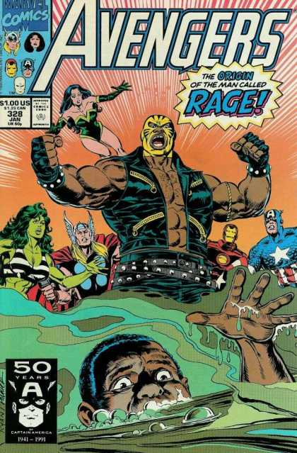 Avengers 328 - Man - Girl - Hero - Eyes - Star - Paul Ryan