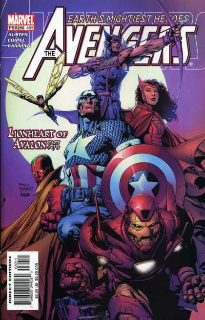 Avengers 495 - Marvel - Arrow - Bow - Captain America - Iron Man