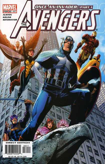 Avengers 497 - The Avengers - Once An Invader - Part 1 - Eagle - Marvel