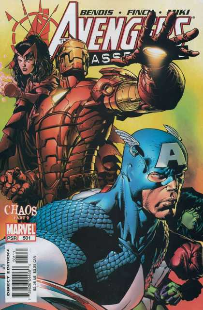 Avengers 501 - Chaos - Captain America - Woman - Light - Bendis - David Finch