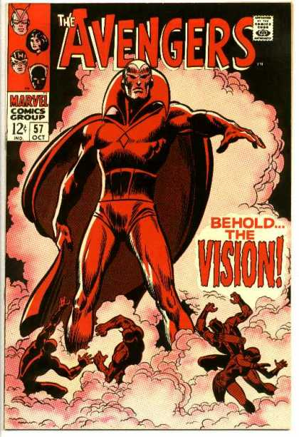 Avengers 57 - Behold The Vision - Superhero - Cape - Red - Marvel
