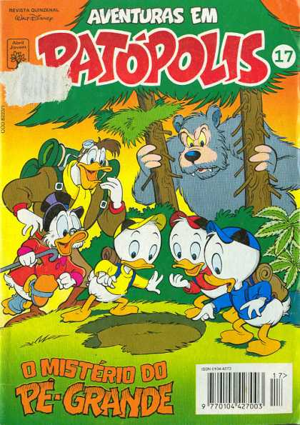 Aventuras em Patopolis 17 - Disney - Walt - Duck - Donald - Children