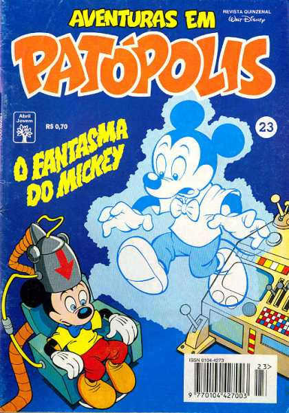 Aventuras em Patopolis 23 - Walt Disneys - 23 - Rs070 - O Fantasma Do Mickey - 9770104427003