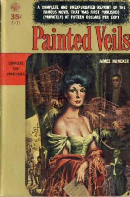 Avon Books - Painted Veils - James Huneker