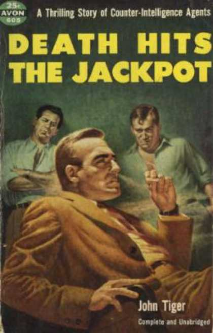 Avon Books - Death Hits the Jackpot