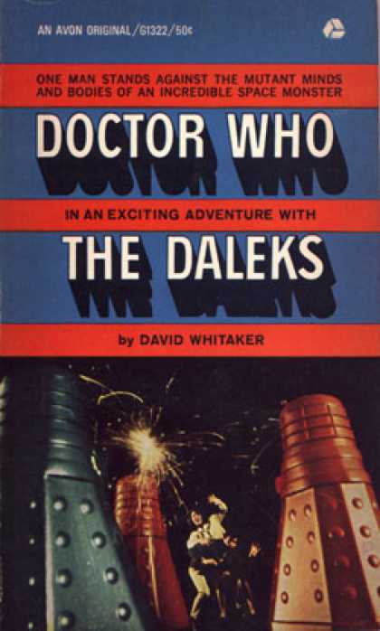 Avon Books - Doctor Who In an Exciting Adventure With the Daleks