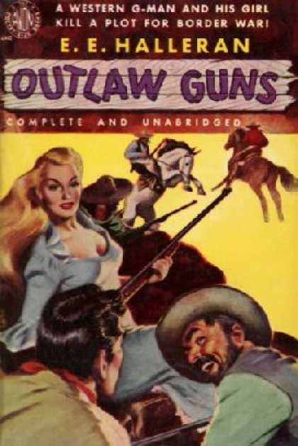 Avon Books - Outlaw Guns - E. E. Halleran
