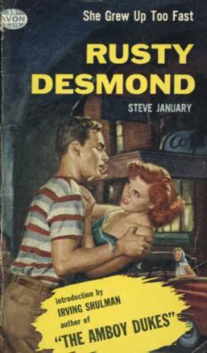 Avon Books - Rusty Desmond - Steve January