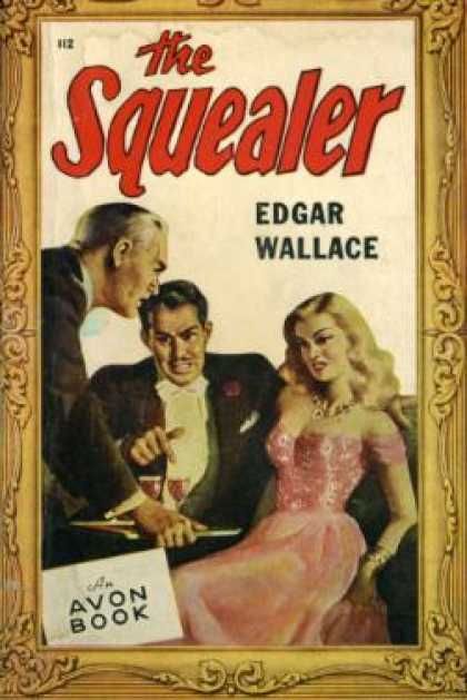 Avon Books - The squealer Edgar Wallace