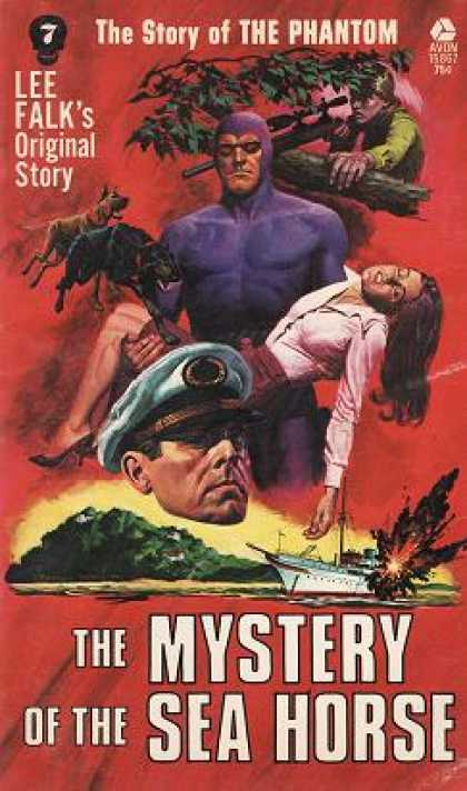Avon Books - The Mystery of the Sea Horse - Lee Falk