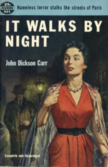 Avon Books - It Walks By Night - John Dickson Carr