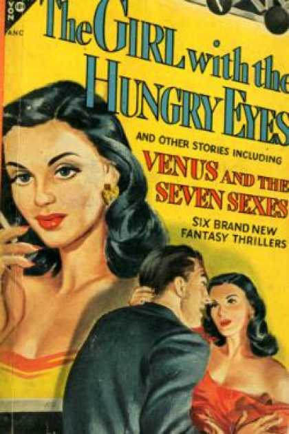 Avon Books - The Girl With the Hungry Eyes