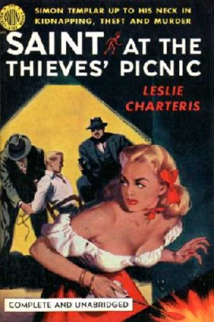Avon Books - Saint at the thieves' picnic - Leslie Charteris