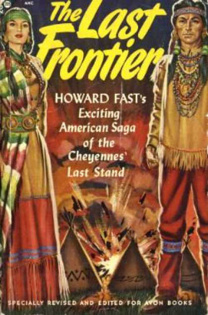 Avon Books - The Last Frontier - Howard Fast