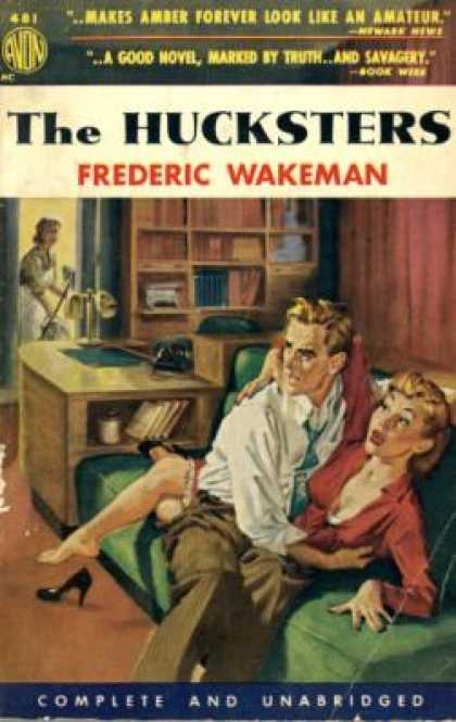 Avon Books - The Hucksters