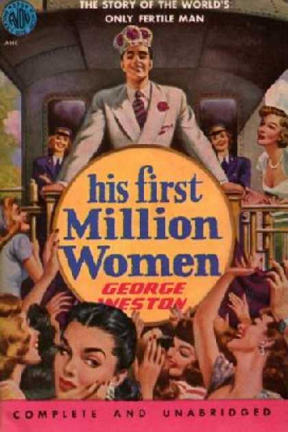 Avon Books - His First Million Women - George Weston