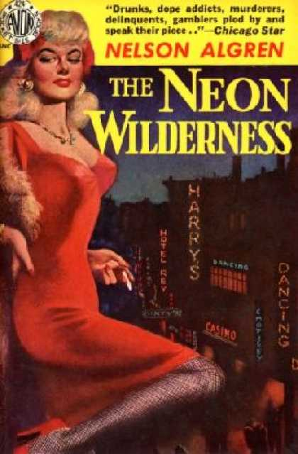 Avon Books - The Neon Wilderness - Nelson Algren