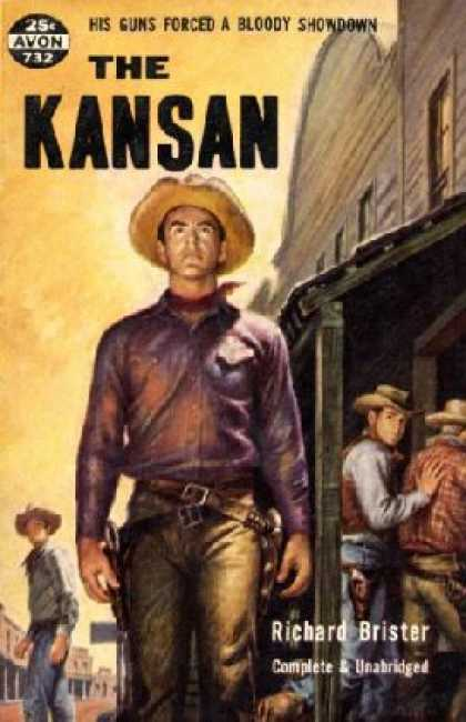 Avon Books - The Kansan - George Richmond Brister