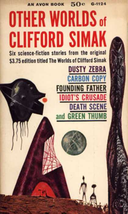 Avon Books - Other Worlds of Clifford Simak - Clifford D. Simak