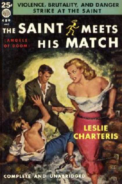 Avon Books - The Saint Meets His Match